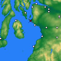 Nearby Forecast Locations - Firth of Clyde - Carta