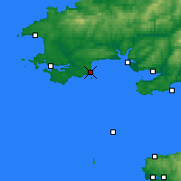 Nearby Forecast Locations - Tenby - Carta