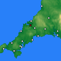 Nearby Forecast Locations - Wadebridge - Carta