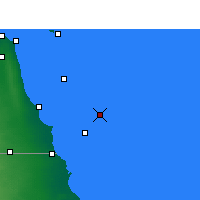 Nearby Forecast Locations - Garoh Island - Carta