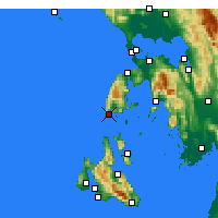 Nearby Forecast Locations - Levkada - Carta