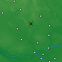 Nearby Forecast Locations - Ciechanów - Carta