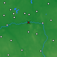 Nearby Forecast Locations - Konin - Carta