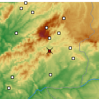Nearby Forecast Locations - Fundao - Carta