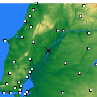 Nearby Forecast Locations - Santarém - Carta