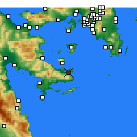 Nearby Forecast Locations - Poros - Carta