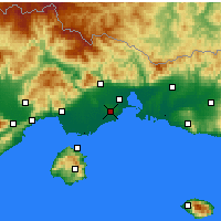 Nearby Forecast Locations - Abdera - Carta