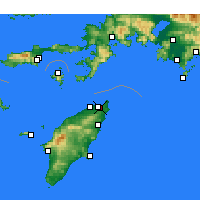 Nearby Forecast Locations - Ialiso - Carta