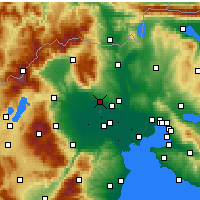 Nearby Forecast Locations - Giannitsa - Carta