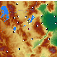 Nearby Forecast Locations - Ptolemaida - Carta