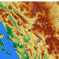 Nearby Forecast Locations - Kalpaki - Carta