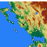 Nearby Forecast Locations - Margariti - Carta