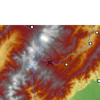 Nearby Forecast Locations - San Agustín - Carta