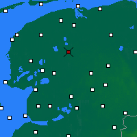 Nearby Forecast Locations - Drachten - Carta