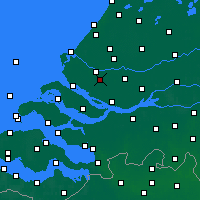 Nearby Forecast Locations - Spijkenisse - Carta