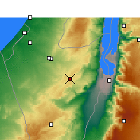 Nearby Forecast Locations - Dimona - Carta