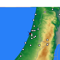 Nearby Forecast Locations - Holon - Carta