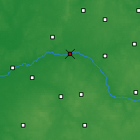 Nearby Forecast Locations - Zawisty Podleśne - Carta