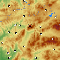 Nearby Forecast Locations - Terchová - Carta