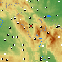 Nearby Forecast Locations - Bystrzyca Kłodzka - Carta