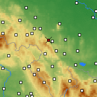 Nearby Forecast Locations - Dzierżoniów - Carta