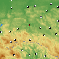 Nearby Forecast Locations - Jasło - Carta