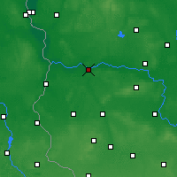 Nearby Forecast Locations - Krosno Odrzańskie - Carta