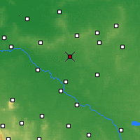 Nearby Forecast Locations - Oleśnica - Carta