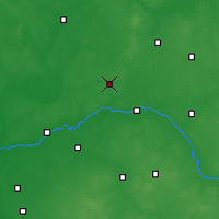Nearby Forecast Locations - Ostrów Mazowiecka - Carta