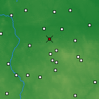 Nearby Forecast Locations - Ozorków - Carta