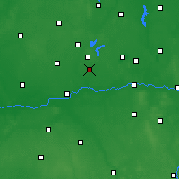Nearby Forecast Locations - Słupca - Carta