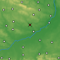 Nearby Forecast Locations - Staszów - Carta