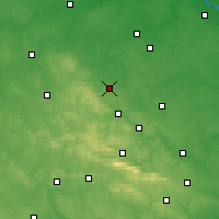 Nearby Forecast Locations - Szydłowiec - Carta
