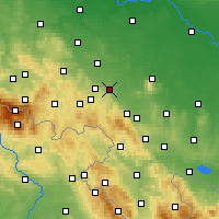 Nearby Forecast Locations - Świdnica - Carta