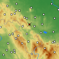 Nearby Forecast Locations - Żdanów - Carta