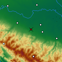 Nearby Forecast Locations - Reggio nell'Emilia - Carta