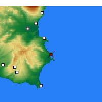 Nearby Forecast Locations - Siracusa - Carta