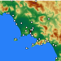 Nearby Forecast Locations - Casoria - Carta