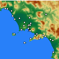 Nearby Forecast Locations - Portici - Carta