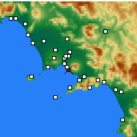 Nearby Forecast Locations - Ercolano - Carta