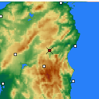 Nearby Forecast Locations - Nuoro - Carta