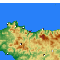 Nearby Forecast Locations - Termini Imerese - Carta