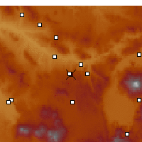 Nearby Forecast Locations - Nevşehir - Carta