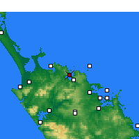 Nearby Forecast Locations - Whangaroa - Carta