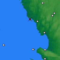 Nearby Forecast Locations - Falkenberg - Carta