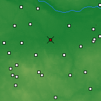 Nearby Forecast Locations - Łowicz - Carta