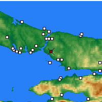 Nearby Forecast Locations - Ataşehir - Carta