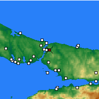 Nearby Forecast Locations - Ümraniye - Carta