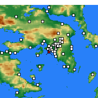 Nearby Forecast Locations - Il Pireo - Carta