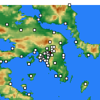 Nearby Forecast Locations - Amarousio - Carta